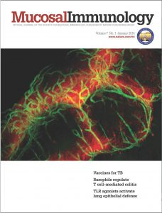 Mucosal Immunology Cover 2012